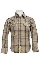 Larry Mahan Boys L/S Western Snap Shirt KLS131102