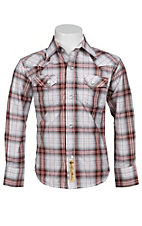 Larry Mahan Boys L/S Western Snap Shirt KLS131104