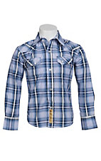 Larry Mahan Boys L/S Western Snap Shirt KLS131107
