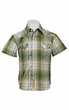 Larry Mahan Boys S/S Western Snap Shirt KSS1321001
