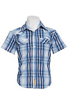 Larry Mahan Boys S/S Western Snap Shirt KSS1321006