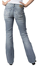Silver Jeans® Women's Light Suki Surplus Mid Rise Bootcut Jeans