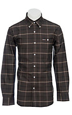 Larro™ L/S Mens Plaid Shirt LA1230301