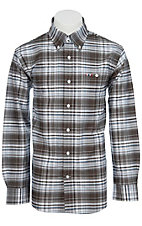 Larro™ L/S Mens Plaid Shirt LA1230304