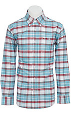 Larro™ L/S Mens Plaid Shirt  LA1230307