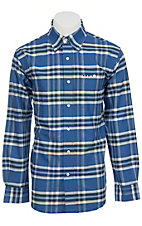 Larro™ L/S Mens Plaid Shirt  LA1230308