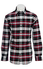 Larro L/S Mens Plaid Shirt  LA1240303
