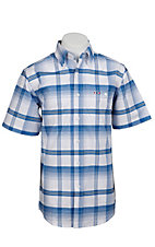 Larro S/S Mens Plaid Shirt  LA1320302