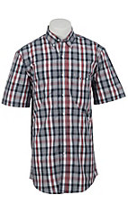Larro™ S/S Mens Plaid Shirt LA1320303