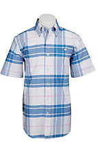 Larro S/S Mens Plaid Shirt LA1320306