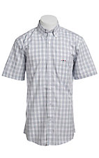 Larro S/S Mens Plaid Shirt LA1320307