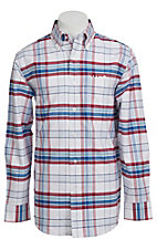 Larro? L/S Mens Plaid Shirt LA1330304