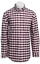 Larro? L/S Mens Plaid Shirt LA1330306