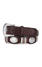 Tony Lama® Brown Cutting Champ Belt