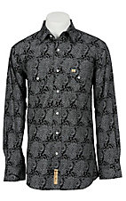Larry Mahan Mens L/S Western Snap Shirt LM1210701