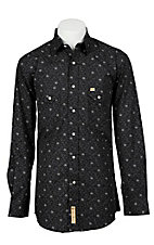 Larry Mahan Mens L/S Western Snap Shirt LM1210703