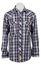 Larry Mahan Mens L/S Western Snap Shirt LM1211002