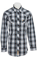 Larry Mahan Mens L/S Western Snap Shirt  LM1211005