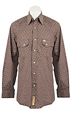 Larry Mahan Mens L/S Western Snap Shirt LM1230712
