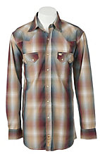 Larry Mahan Mens L/S Western Snap Shirt  LM1240203