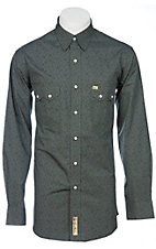 Larry Mahan Mens L/S Western Snap Shirt  LM1240210