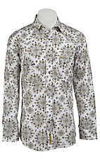 Larry Mahan Mens L/S Western Snap Shirt  LM1240211