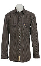 Larry Mahan Mens L/S Western Snap Shirt LM1240734