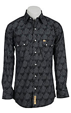 Larry Mahan Mens L/S Western Snap Shirt LM1310205
