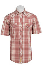 Larry Mahan Mens S/S Western Snap Shirt LM1310701NS
