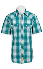Larry Mahan Mens S/S Western Snap Shirt LM1310702NS