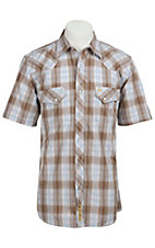 Larry Mahan Mens S/S Western Snap Shirt LM1310705NS