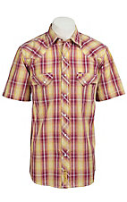 Larry Mahan Mens S/S Western Snap Shirt LM1310706NS