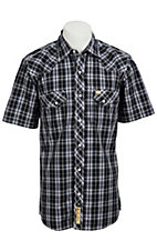 Larry Mahan Mens S/S Western Snap Shirt LM1310709NS