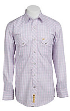 Larry Mahan Mens L/S Western Snap Shirt LM1310712