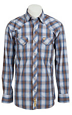 Larry Mahan Mens L/S Western Snap Shirt LM1310718NS