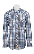 Larry Mahan Mens L/S Western Snap Shirt LM1310719NS