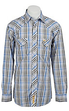 Larry Mahan Mens L/S Western Snap Shirt LM1310726NS