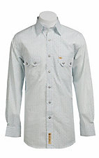 Larry Mahan Mens L/S Western Snap Shirt LM1320201
