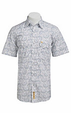 Larry Mahan Mens S/S Western Snap Shirt LM1320204