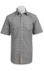 Larry Mahan Mens S/S Western Snap Shirt  LM1320703