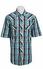 Larry Mahan Mens S/S Western Snap Shirt LM1320708NS