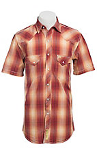 Larry Mahan Mens S/S Western Snap Shirt LM1320709NS
