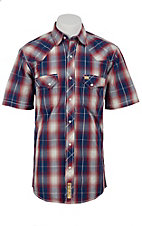 Larry Mahan Mens S/S Western Snap Shirt LM1320711NS