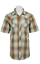 Larry Mahan Mens L/S Western Snap Shirt  LM1320712NS