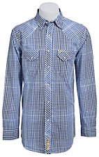 Larry Mahan Mens L/S Western Snap Shirt LM1320713NS