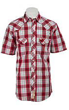 Larry Mahan Mens S/S Western Snap Shirt LM1320714NS