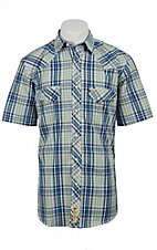 Larry Mahan Mens S/S Western Snap Shirt LM1320715NS