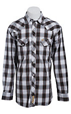 Larry Mahan Mens L/S Western Snap Shirt LM1320716NS