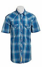 Larry Mahan Mens S/S Western Snap Shirt LM1320717NS