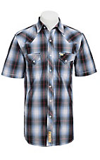 Larry Mahan Mens S/S Western Snap Shirt LM1320718NS